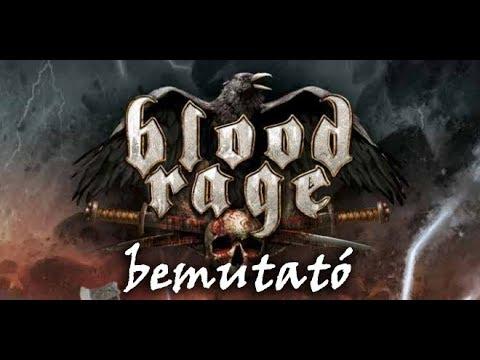 Blood Rage - társasjáték bemutató - Jatszma.ro