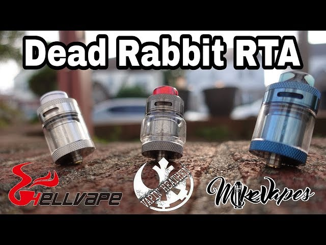 Dead Rabbit RTA By Heathen & Hellvape - Build & Wick