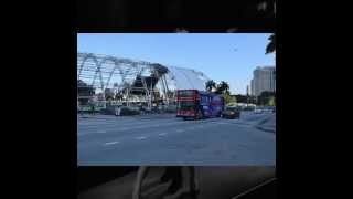 E11EVEN MIAMI Double Decker Bus Making Rounds During MMW2015