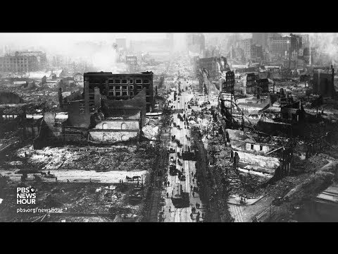 Century-old film of San Francisco's devastating 1906 earthquake aftermath turned up at a California flea market