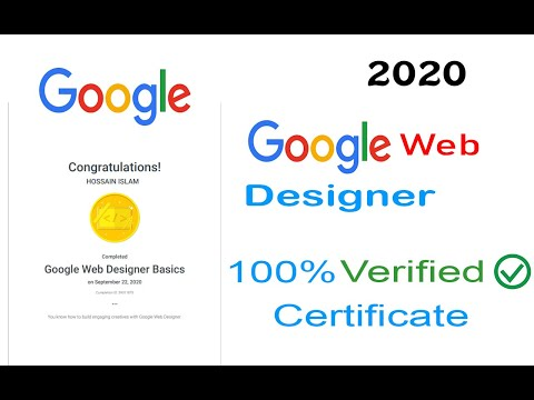 Google Web Designer Free Certification Course | Web ... - YouTube