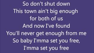 3OH!3-Set You Free (Lyrics on screen)