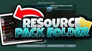 RESOURCEPACK FOLDER FULL FPS (MEJORES PACKS)