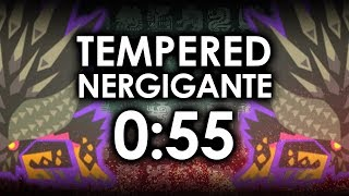 MHWorld | How To Kill Tempered Nergigante In 0:55