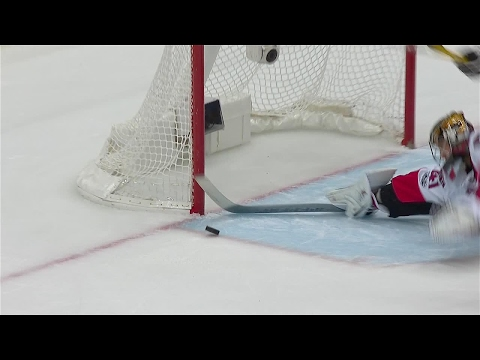Penguins come inches away from scoring late go-ahead goal