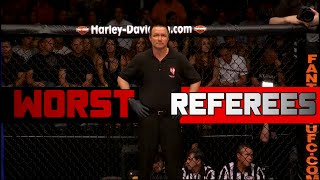 Biggest Ref Mistakes In MMA