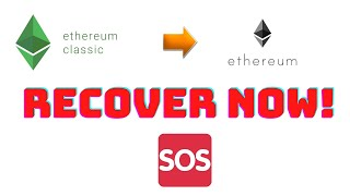 ETC Token to ETH adress, how to recover?