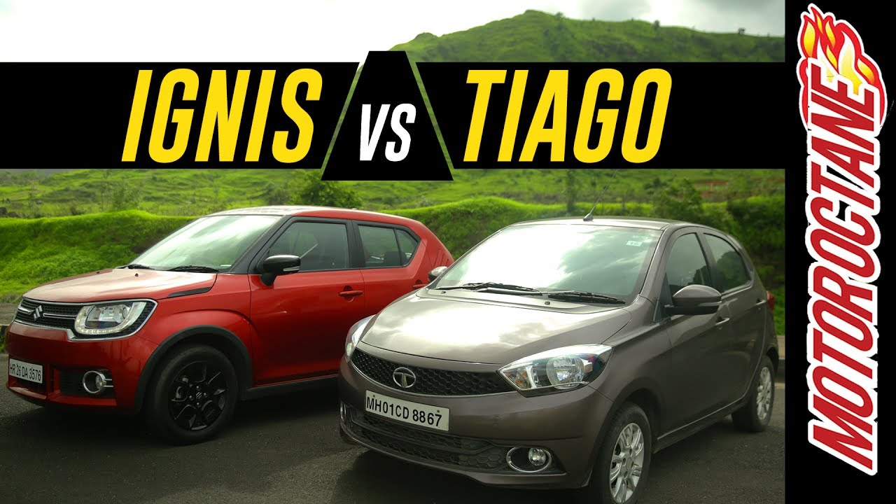 Motoroctane Youtube Video - Maruti Ignis vs Tata Tiago Detailed Comparison - ?????? ???
