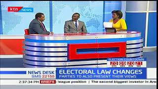 NEWS DESK: Electoral Law Changes- Can it be done considering how close we are to elections?