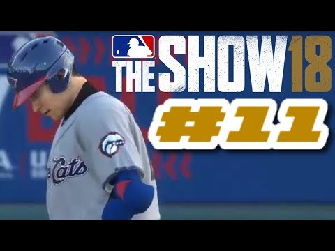MLB The Show 18 PS4 Road To The Show Ep.8 (Road To MLB The Show 19 PS4 Road To The Show Ep.11)