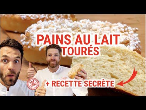 Pains au lait tourés + pralinette du chef Damien Baccon