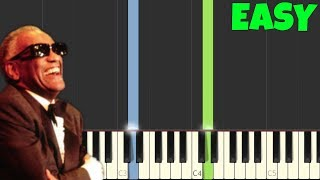 Hit The Road Jack [Easy Piano Tutorial] (Synthesia/Sheet Music)