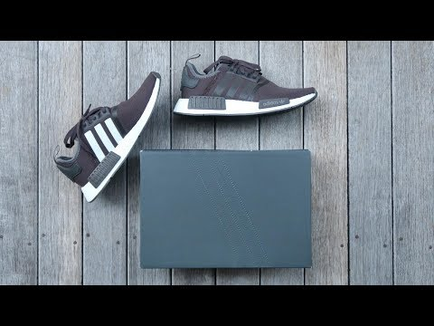 9744bf076f139 Adidas nmd r1 cq2412 unboxing - overview on-feet