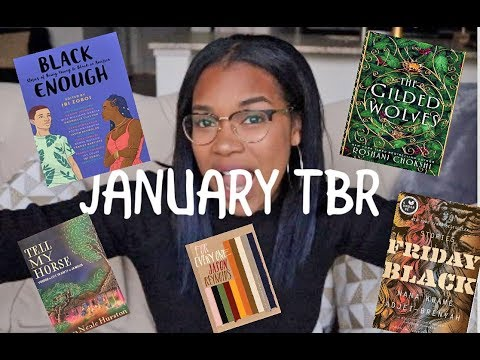 JANUARY TBR | BOOKS TO READ JANUARY 2019