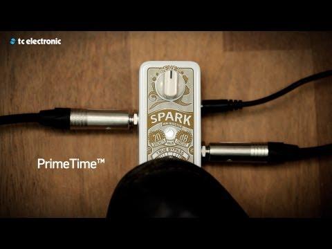 TC ELECTRONIC Spark Mini Booster Kytarový efekt