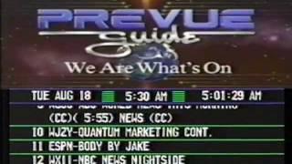 TV Listings (August 18th 1992)
