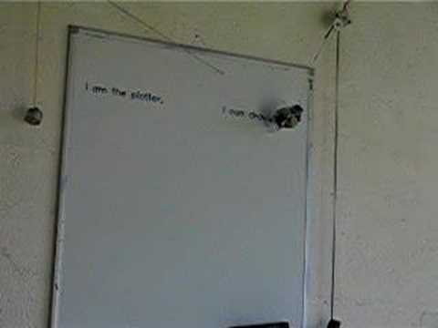 Automated Whiteboard Shuns Projectors, Mystical Beings