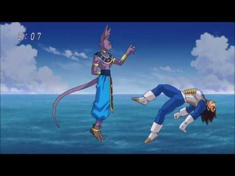 dragon ball super dbz fighters vs beerus highlights 720p
