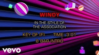 The Association - Windy (Karaoke)
