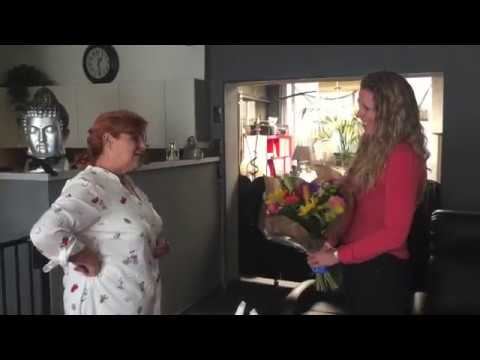 Betrokken bewoner Gina