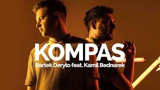 Kadr z teledysku KOMPAS tekst piosenki Bartek Deryło feat. Kamil Bednarek