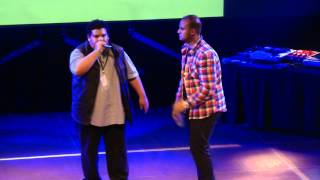 preview picture of video 'Beatbox Battle Maurepas - Wawad vs BigBen - 1/8 Final'