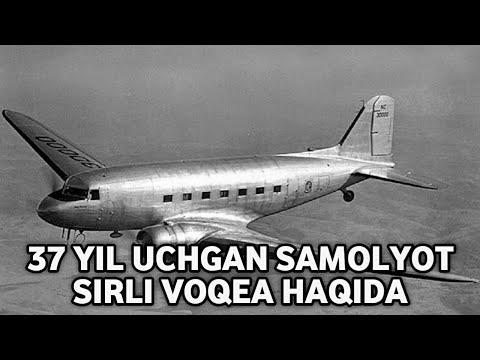 1955 yil uchgan samolyot 1992 yilda qo'ndi | 914-reys 37-yil uchgan samolyot