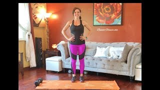 Total Body Home Exercise Routine to Burn Fat and Build Strength
