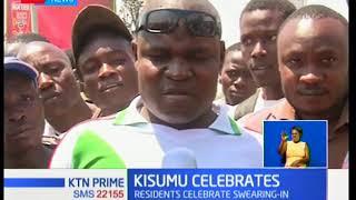 Swearing-in of NASA leader Raila Odinga saw unprecedented celebrations in in his Nyanza backyard