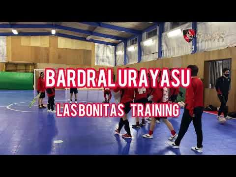Bardral URAYASU LAS BONITAS  TRAINING