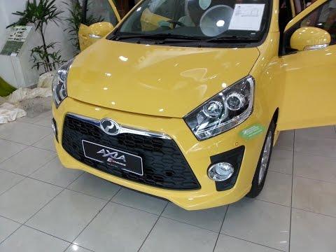 Perodua Axia 2018 Full Spec - Baturan k