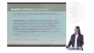Writing a letter of request in English |  | UPV