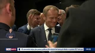 """TVPIS: """"Powrót Tuska – będzie więcej agresji?"""""""