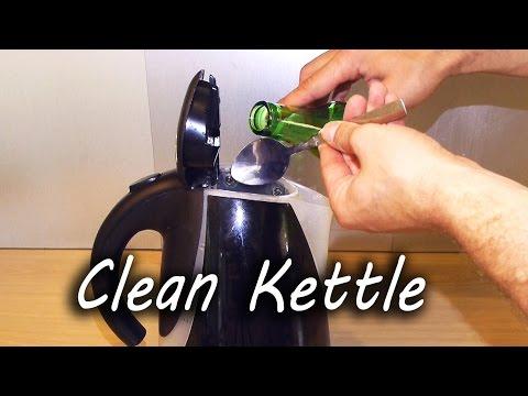 Fjern kalk fra vannkokeren på et blunk