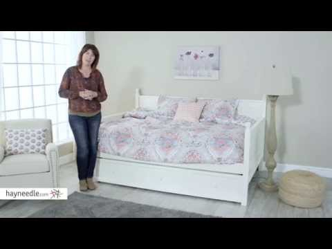 Belham Living Casey Daybed - White - Full - Product Review Video