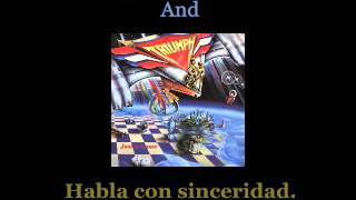 Triumph - Lay It On The Line - Lyrics / Subtitulos en español (NWOBHM) Traducida
