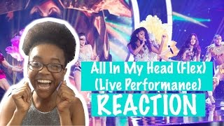 "Fifth Harmony - ""All In My Head (Flex) Live (Dancing With The Stars) REACTION"