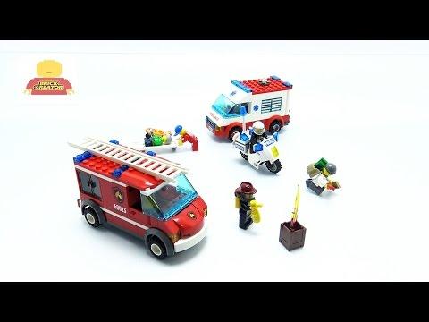 Vidéo LEGO City 60023 : Ensemble de véhicules LEGO City