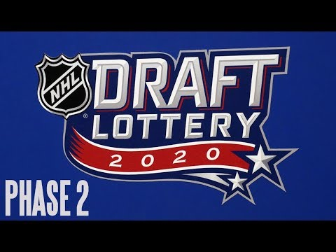 2020 NHL Draft Lottery Phase 2 LIVE Reaction!