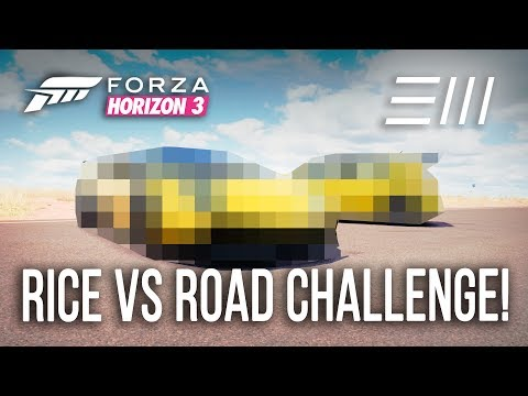 Forza Horizon 3 - RICE vs ROAD CAR CHALLENGE!!! (w/xStark3y90x)