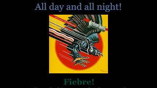 Judas Priest - Fever - Lyrics / Subtitulos en español (Nwobhm) Traducida