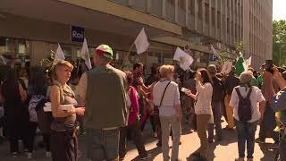"""Xylella, corteo a Bari: """"Stop a espianto ulivi. Bisogna abrogare il decreto Martina"""" - VIDEO"""