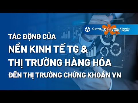 Bài 1: Tác Động Của Nền Kinh Tế Thế Giới & Thị Trường Hàng Hóa Đến Thị Trường Chứng Khoán Việt Nam