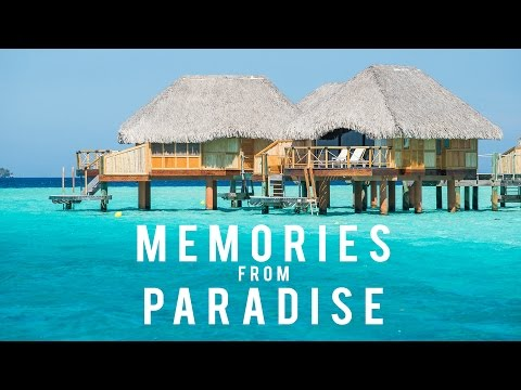 Memories from Paradise - Bora Bora and Moorea Honeymoon [4K DJI Phantom, GoPro Hero]