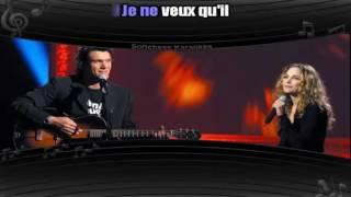 Karaoké  Je Ne Veux Qu'elle De Marc Lavoine & Claire Keim