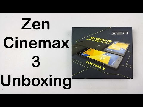Zen Cinemax 3 Review - Unboxing & First Look | Nothing Wired