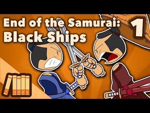 Konec samurajů: Černé lodě