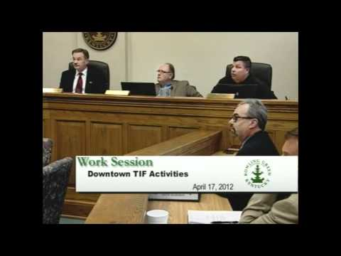 4/17/12 Board of Commissioners Work Session
