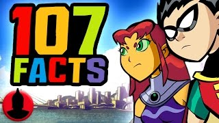 107 Teen Titans Facts YOU Should Know! - ToonedUp @CartoonHangover
