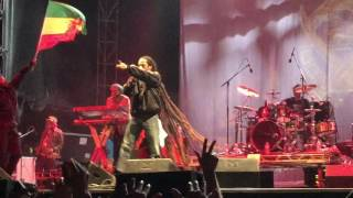 """Damian Marley""""dispear"""" live at RIOTFEST in Chicago 9/13/15"""